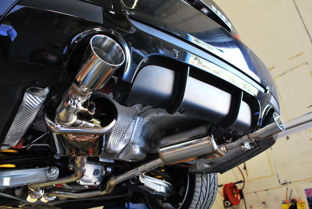 Stainless Steel Exhausts