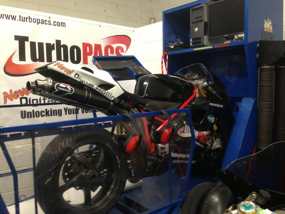 Bike Dyno at Turbopacs